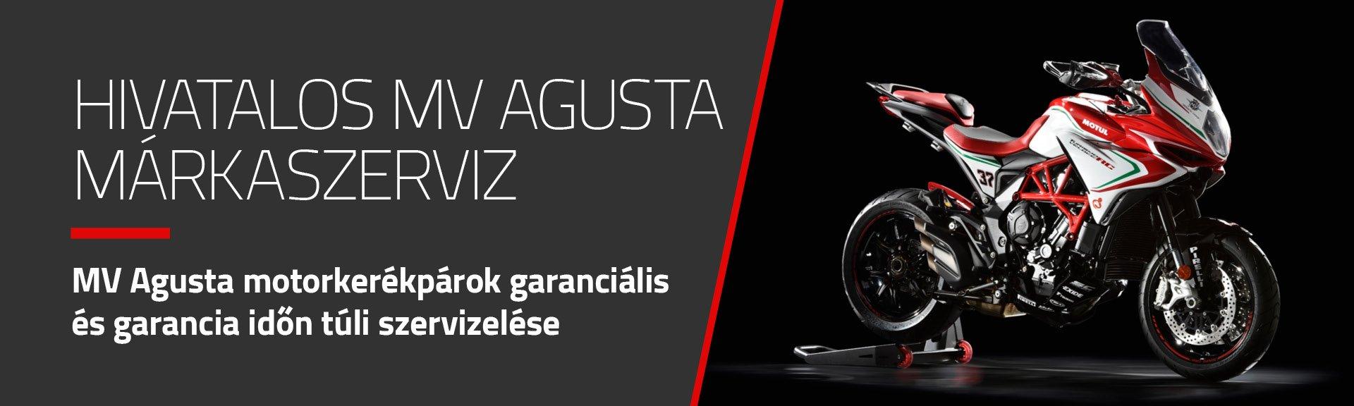 MV Agusta hivatalos márkaszerviz